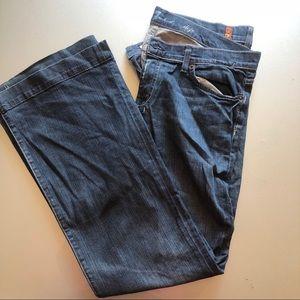 7 For all man kind Dojo Flare Jeans